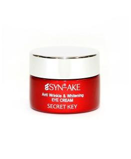 Secret Key Syn Ake Anti Wrinkle & Whitening Eye Cream, 15 g