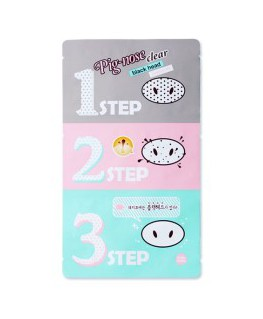 Holika Holika Pig-Nose Clear Black Head 3 Step Kit