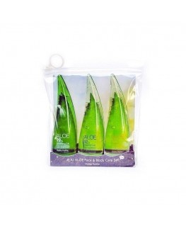 Holika Holika Jeju Aloe Face And Bodycare Set 3x55ml