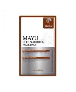 Secret Key Mayu Deep Nutrition Mask Pack 1pcs