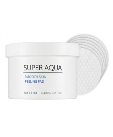 MISSHA Super Aqua Smooth Skin Peeling Pad 60 pads