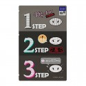 Holika Holika Pig Clear Blackhead 3-Step Kit (Strong)