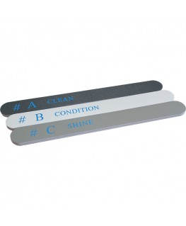 Nail file and polish ABC PRO3