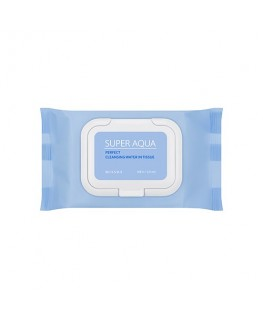 Missha Super Aqua Perfect Cleansing Water In Tissue 30 sheets