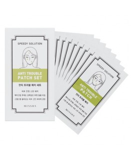 Missha Speedy Solution Anti-Trouble Patch Set (8 sheets, 96 patches)
