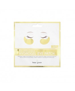 BEAUUGREEN Collagen & Gold Hydrogel Eye Patch  2 pcs