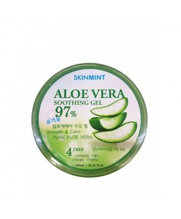 SKINMINT Aloe Vera 97% Soothing Gel 300 ml