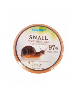 SKINMINT 97% Snail Mucus Soothing Gel 300ml