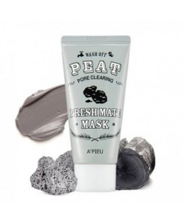 A'PIEU Fresh Mate Peat Mask Pore Clearing 50ml