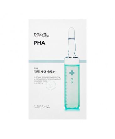 Missha Mascure Peeling Solution Sheet Mask PHA