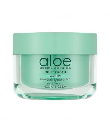 Aloe Soothing Essence 80% Moist Cream 100 ml