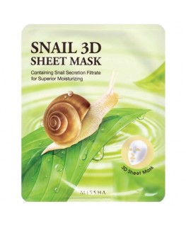 Missha Snail 3D Sheet Mask