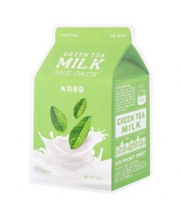 A'PIEU Milk One-Pack Green Tea Milk