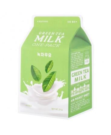 A'PIEU Milk One-Pack Green Tea Milk