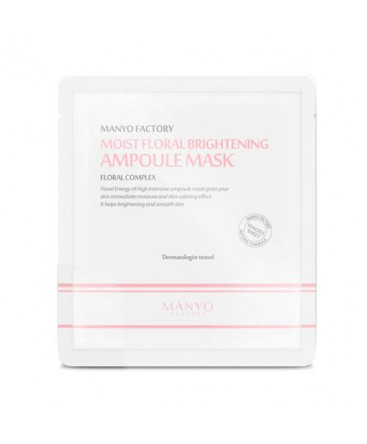 Manyo Factory Moist Floral Brightening Ampoule Mask