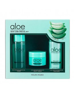 Holika Holika Aloe Soothing Essence Skin Care Special Kit 120ml
