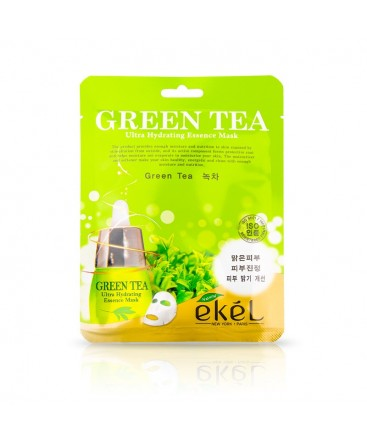 f6c65e712a2 Ekel Ultra Hydrating Mask Green Tea - Korea Cosmetics OÜ