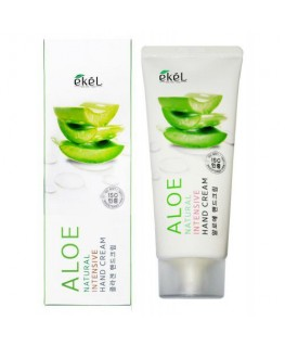 EKEL Natural Intensive Hand Cream Aloe 100ml