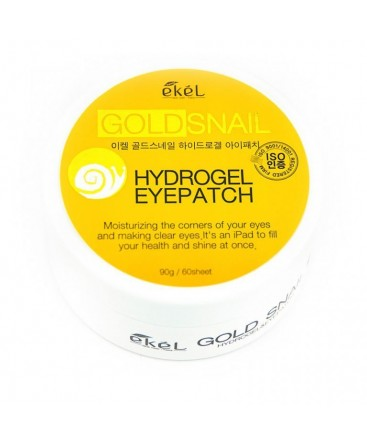 Ekel Hydrogel Eye Patch Gold Snail