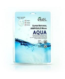 Ekel Super Natural Ampoule Mask Aqua