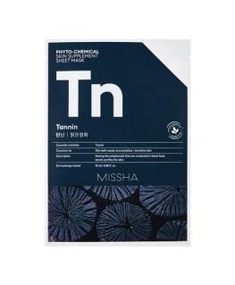 Missha Phytochemical Skin Supplement Sheet Mask (Tannin/Purifying)