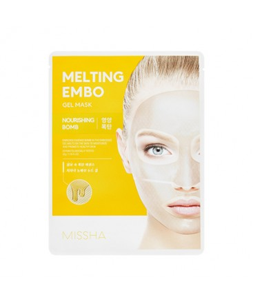 Missha Melting Embo Gel Mask Nourishing Bomb 30g