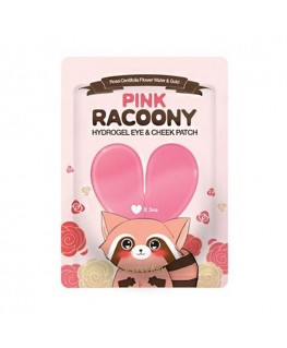 Secret Key Pink Racoony Hydro Gel Eye & Cheek Patch 3pcs
