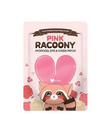 Secret Key Pink Racoony Hydro Gel Eye & Cheek Patch 3pcs