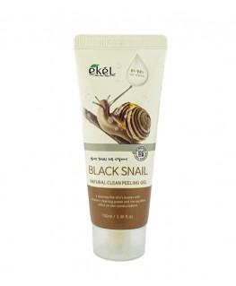 Ekel Black Snail Natural Clean Peeling Gel 100 ml