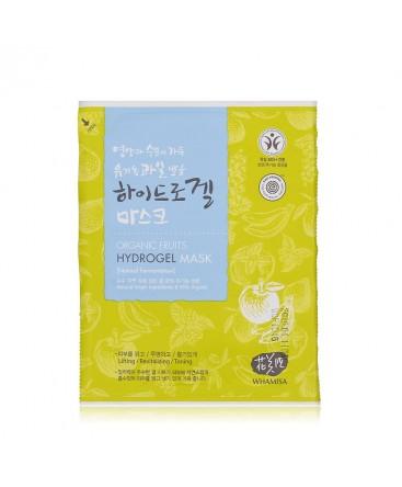 WHAMISA Organic Fruits Hydrogel Mask 33g