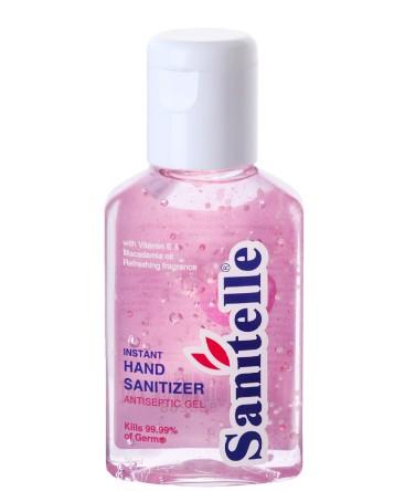 Sanitelle käte desinfitseerimisgeel E-vitamiini ja makadaamia õliga 50ml