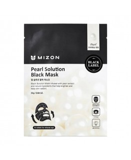 Mizon Pearl Solution Black Mask