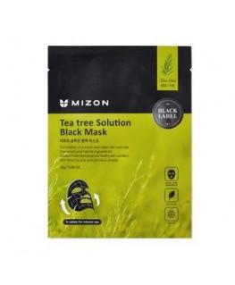 Mizon Teatree Solution Black Mask