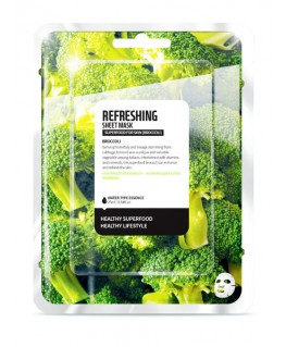 Superfood Broccoli Sheet Mask Refreshing