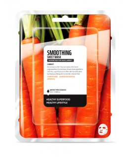 Superfood Carrot Sheet Mask Smoothing
