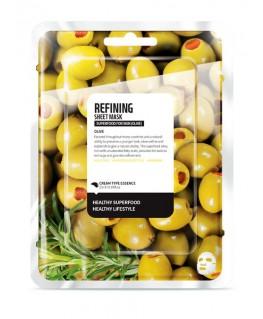 Superfood Olive Sheet Mask Refining