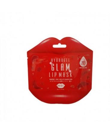 BEAUUGREEN Hydrogel Glam Lip Mask Rose 1pcs