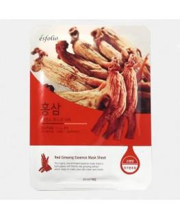 Esfolio Red Genseng Essence Mask Sheet