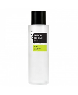Coxir Green Tea BHA Clear Toner 150ml